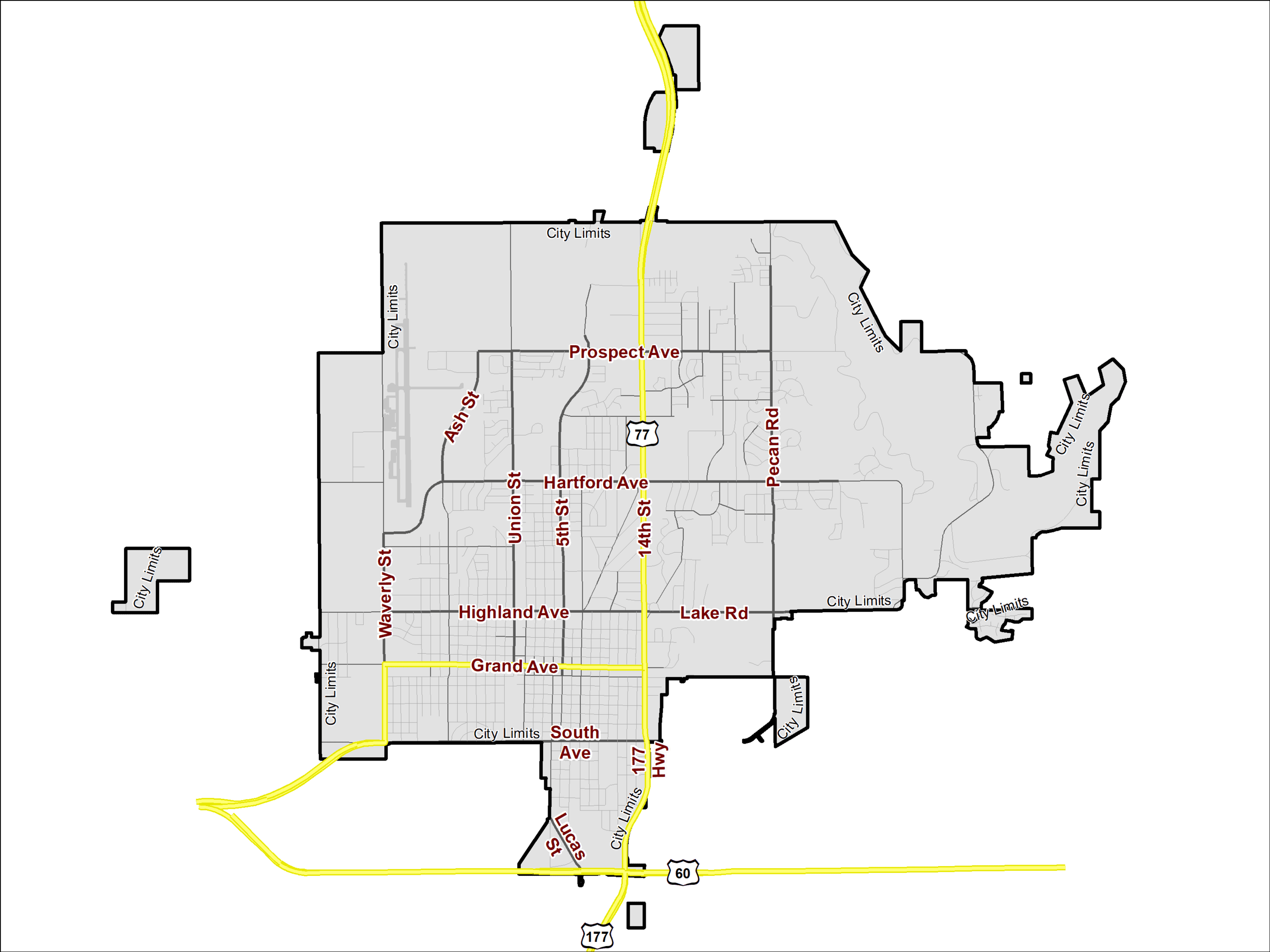 City Limits Map