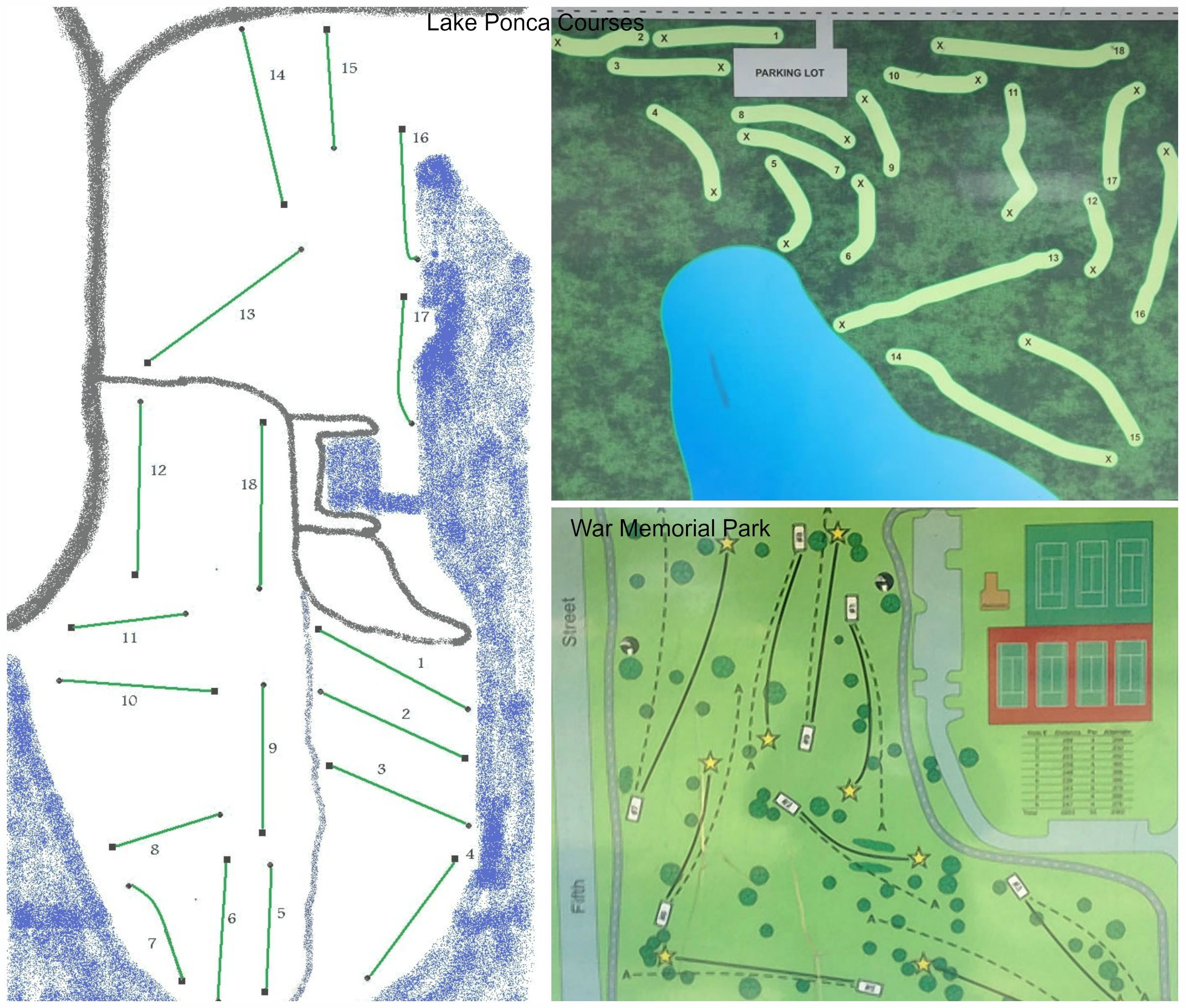 Disc Golf Maps